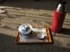 Celková kompozice při čajování